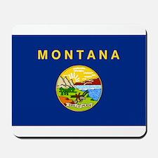Montana Flag Mousepad