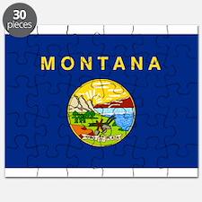 Montana Flag Puzzle