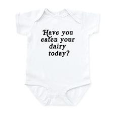 dairy today Infant Bodysuit