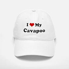 I Love Cavapoo Baseball Baseball Cap