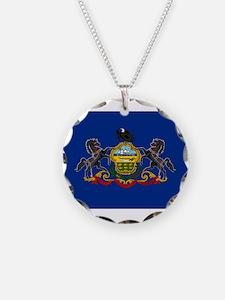 Pennsylvania Flag Necklace