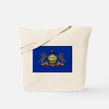 Pennsylvania Flag Tote Bag