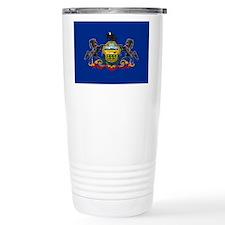 Pennsylvania Flag Travel Mug