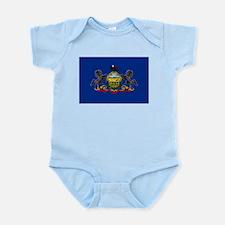 Pennsylvania Flag Body Suit