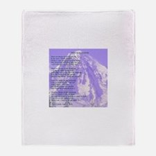 Images in the Mountain Throw Blanket