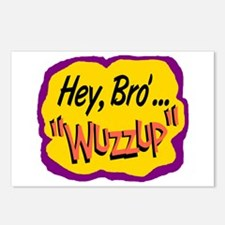 Wuzzup Postcards (Package of 8)