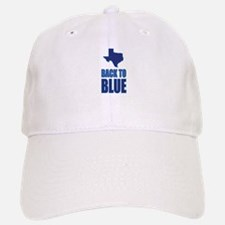 Texas Back to Blue Baseball Baseball Baseball Cap