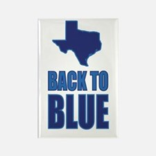 Texas Back To Blue Magnets
