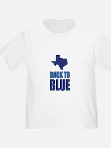 Texas Back to Blue T-Shirt