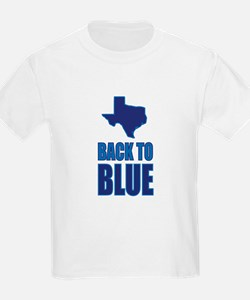 Texas Back to Blue T-Shirt
