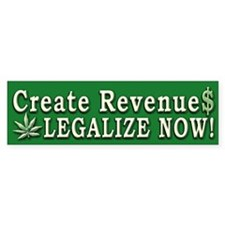 Legalize Now - Bumper Bumper Sticker