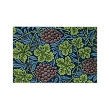 William Morris pattern, Vine Rectangle Magnet