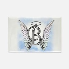 Letter B Monogram Magnets