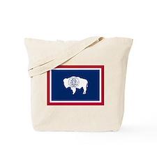 Wyoming Flag Tote Bag