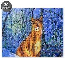 Snow Cougar Puzzle