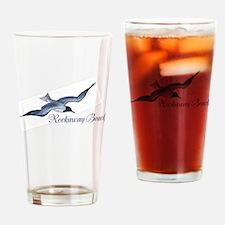 Rockaway Beach Drinking Glass