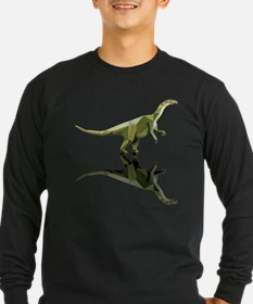 Anchisaurus polygon art style triangles geometry a