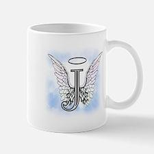 Letter J Monogram Mugs