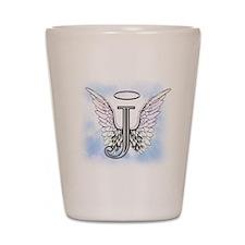 Letter J Monogram Shot Glass