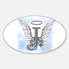 Letter J Monogram Decal