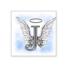 Letter J Monogram Sticker