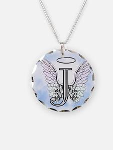 Letter J Monogram Necklace