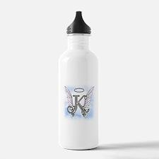 Letter K Monogram Water Bottle