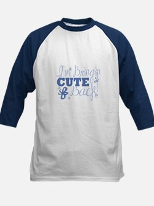 I'm bringin CUTE Back! Kids Baseball Jersey