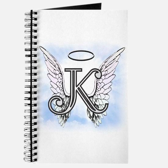 Letter K Monogram Journal
