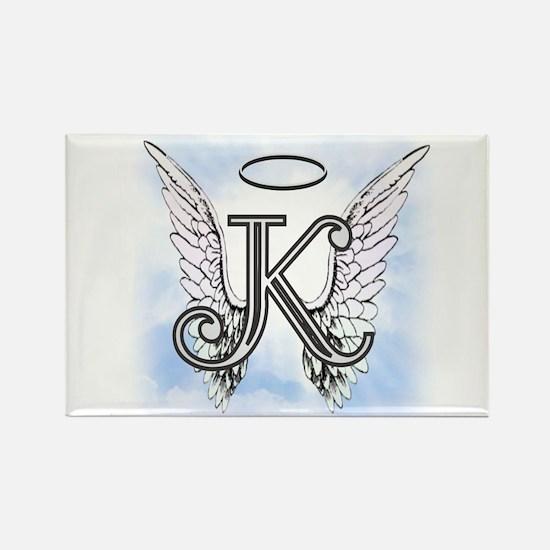 Letter K Monogram Magnets