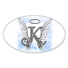 Letter K Monogram Decal
