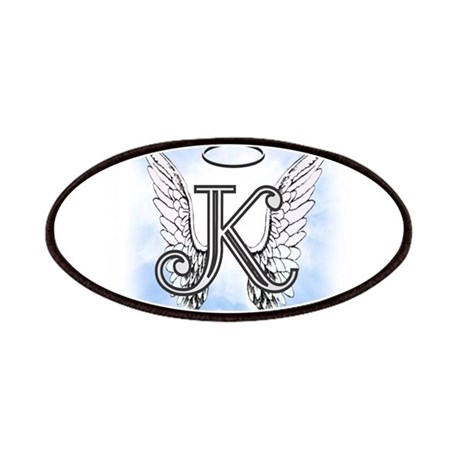 Letter K Monogram Patches By AmelianAngels