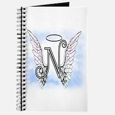 Letter N Monogram Journal