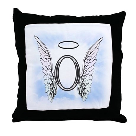 Letter o monogram throw pillow by amelianangels for Letter o monogram