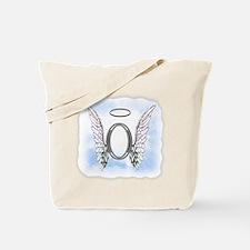 Letter O Monogram Tote Bag