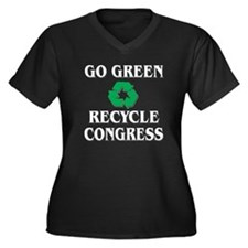 Go Green - Plus Size T-Shirt
