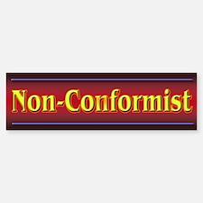 Non-Conformist Bumper Bumper Bumper Sticker