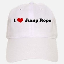 I Love Jump Rope Baseball Baseball Cap