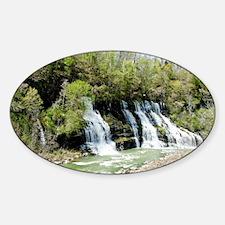 Twin Falls  Sticker (Oval)