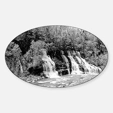 Twin Falls Rock Island Sticker (Oval)