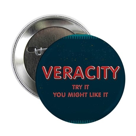 "Veracity 2.25"" Button (10 pack)"
