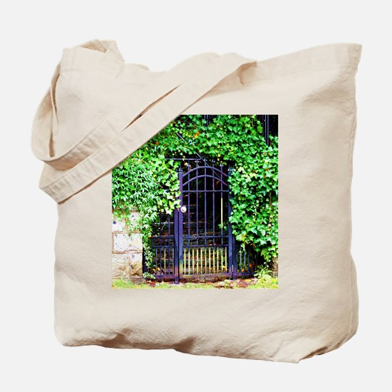 Ivy and Iron Gate Tote Bag