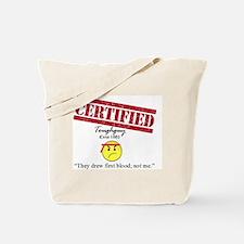 Cute First blood Tote Bag