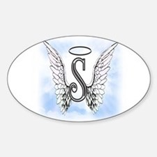 Letter S Monogram Decal