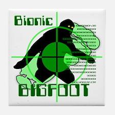 Bionic Bigfoot Tile Coaster