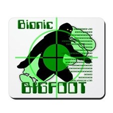Bionic Bigfoot Mousepad