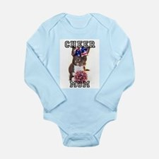 Cheer Mom Chihuahua Dog Body Suit