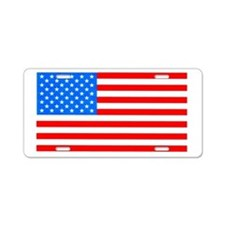 American Flag Light Blue 4th of July Pie Aluminum