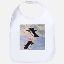 Skating penguins Bib
