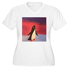 Sky penguin Plus Size T-Shirt
